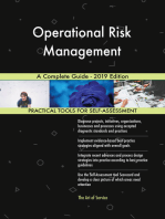 Operational Risk Management A Complete Guide - 2019 Edition