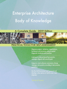 Enterprise Architecture Body of Knowledge A Complete Guide - 2019 Edition