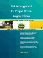 Risk Management for Project Driven Organizations A Complete Guide - 2019 Edition