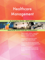 Healthcare Management A Complete Guide - 2019 Edition