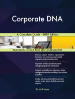 Corporate DNA A Complete Guide - 2019 Edition