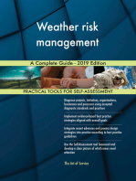 Weather risk management A Complete Guide - 2019 Edition