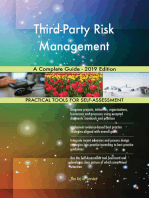 Third-Party Risk Management A Complete Guide - 2019 Edition