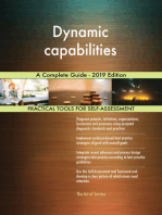 Dynamic capabilities A Complete Guide - 2019 Edition