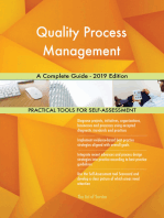 Quality Process Management A Complete Guide - 2019 Edition