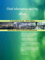 Chief information security officer A Complete Guide - 2019 Edition