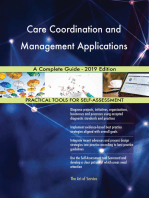 Care Coordination and Management Applications A Complete Guide - 2019 Edition