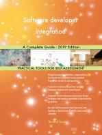 Software developer integration A Complete Guide - 2019 Edition