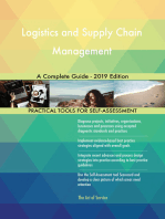 Logistics and Supply Chain Management A Complete Guide - 2019 Edition