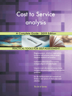 Cost to Service analysis A Complete Guide - 2019 Edition