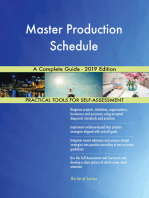 Master Production Schedule A Complete Guide - 2019 Edition
