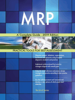 MRP A Complete Guide - 2019 Edition