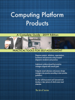 Computing Platform Products A Complete Guide - 2019 Edition