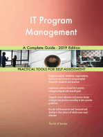 IT Program Management A Complete Guide - 2019 Edition