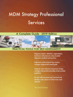 MDM Strategy Professional Services A Complete Guide - 2019 Edition