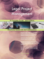 Legal Project Management A Complete Guide - 2019 Edition