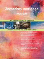 Secondary mortgage market A Complete Guide - 2019 Edition