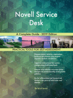 Novell Service Desk A Complete Guide - 2019 Edition