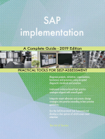 SAP implementation A Complete Guide - 2019 Edition