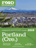 Portland (Ore.) - 2019 - The Food Enthusiast's Complete Restaurant Guide