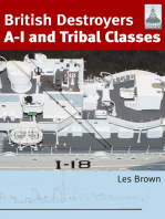 British Destroyers A-I and Tribal Classes