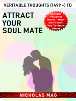 Veritable Thoughts (1499 +) to Attract Your Soul Mate