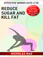 Effective Words (1472 +) to Reduce Sugar and Kill Fat
