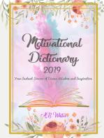 Motivational Dictionary 2019