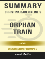 Summary of Orphan Train by Christina Baker Kline (Discussion Prompts)