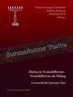 Dialog in Transdifferenz - Transdifferenz im Dialog