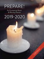 Prepare! 2019-2020 CEB Edition: An Ecumenical Music & Worship Planner