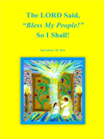 """The LORD Said, """"Bless My People!"""" So I Shall"""