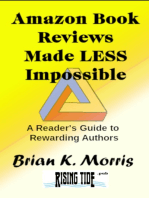Amazon Book Reviews Made Less Impossible