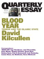 Quarterly Essay 58 Blood Year