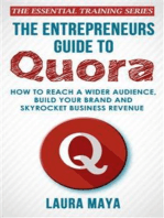 The Entrepreneurs Guide To Quora