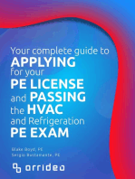 Your Complete Guide to Applying for Your PE License and Passing the HVAC and Refrigeration PE Exam