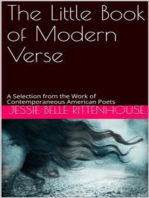 The Little Book of Modern Verse / A Selection from the Work of Contemporaneous American Poets