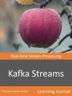 Kafka Streams - Real-time Streams Processing