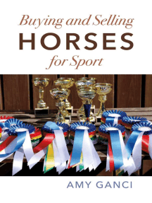 Buying and Selling Horses for Sport: Buyer/Seller Beware