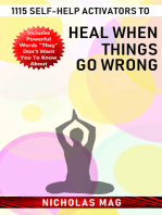 1115 Self-help Activators to Heal When Things Go Wrong