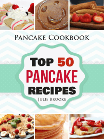 Pancake Cookbook: Top 50 Pancake Recipes