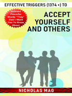 Effective Triggers (1374 +) to Accept Yourself and Others
