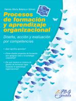 Procesos de formación y aprendizaje organizacional: Diseño, acción y evaluación por competencias
