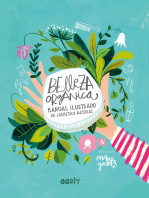 Belleza orgánica: Manual ilustrado de cosmética natural