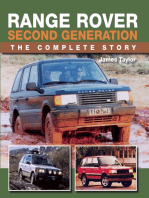 Range Rover Second Generation: The Complete Story