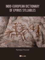 Indo-European dictionary of Epirus syllables