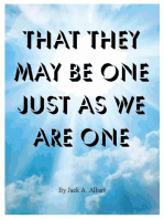 That They May Be One Just As We Are One
