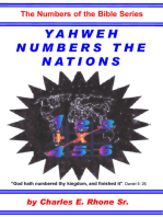 Yahweh Numbers the Nations