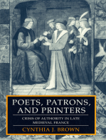 Poets, Patrons, and Printers