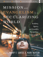 Mission and Evangelism in a Secularizing World